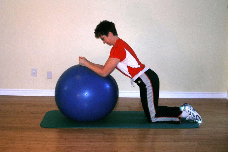 rolling plank start position