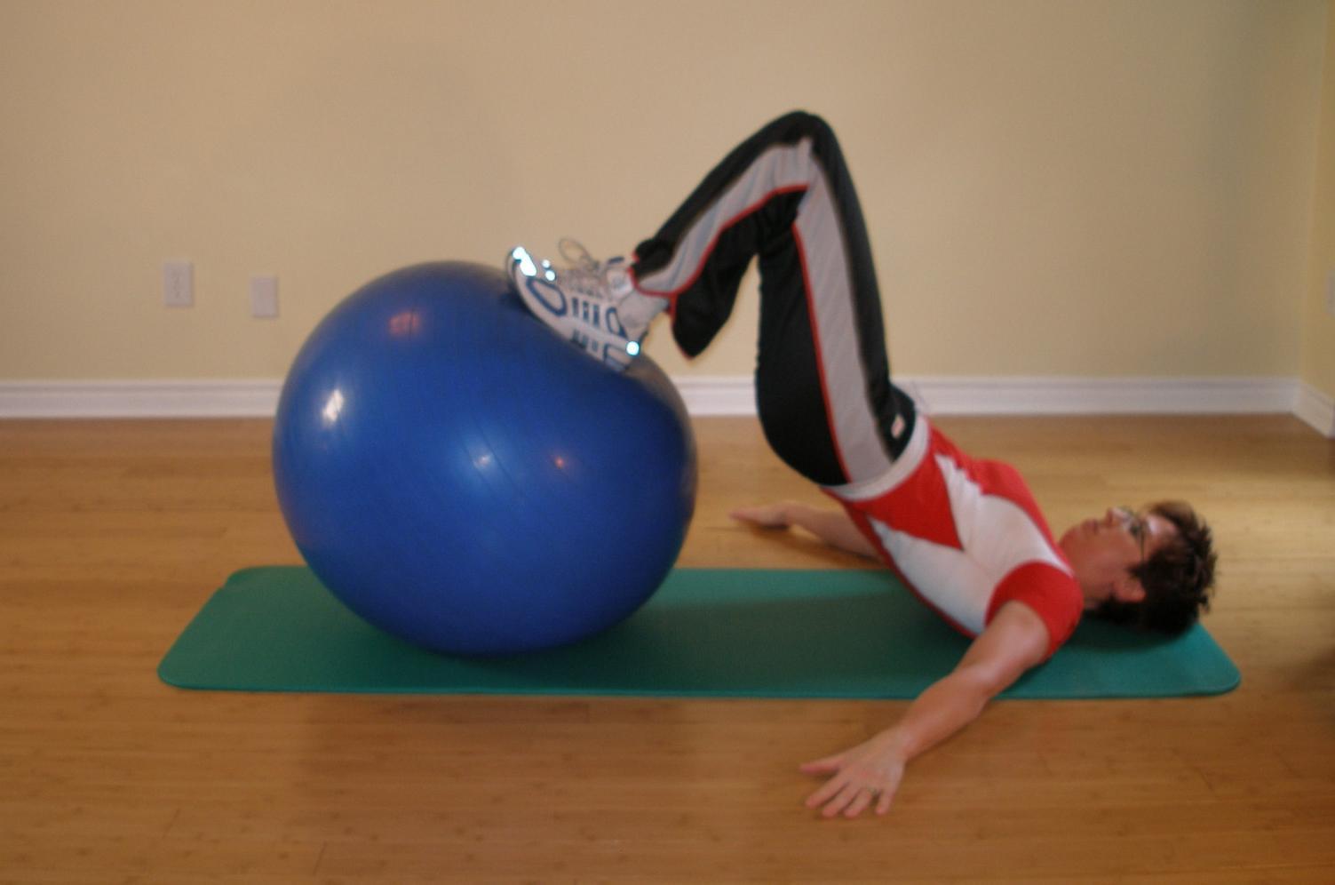 exercise ball exercise for scuba diving