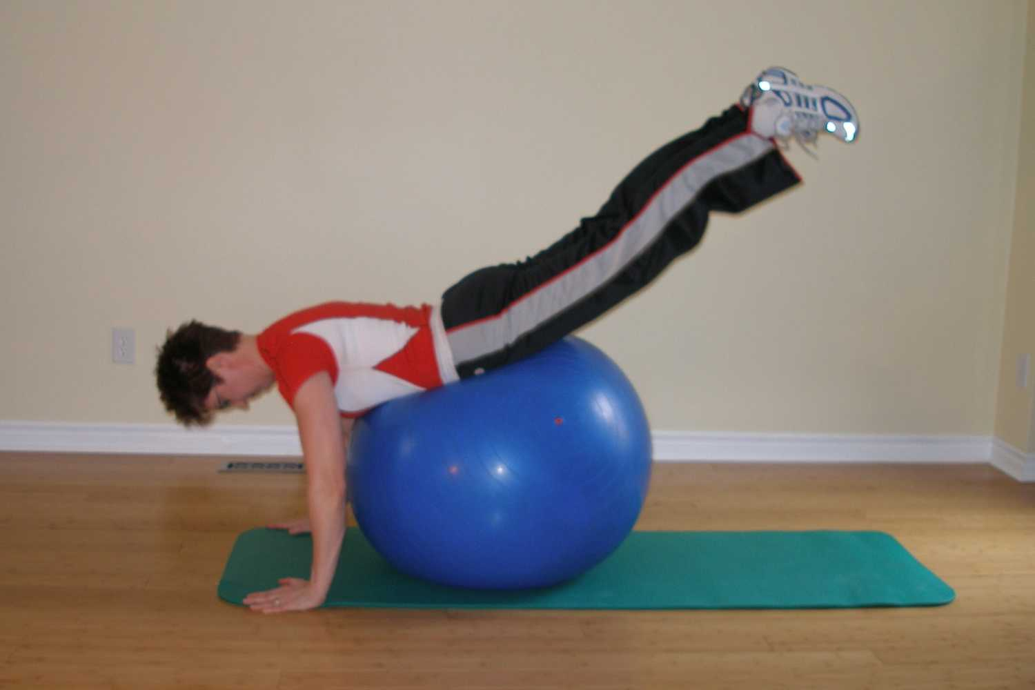 exercise ball exercise for scuba diving