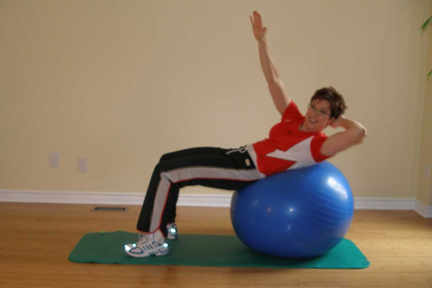 best skiing stability ball exercises