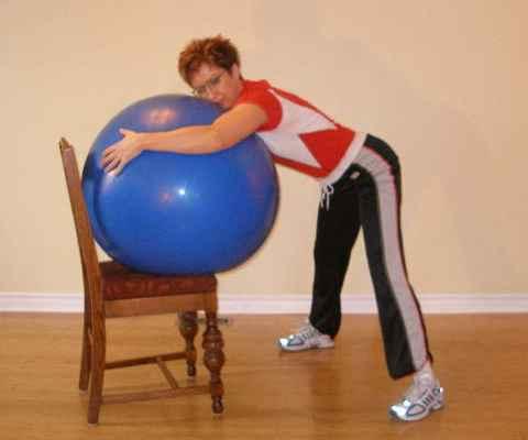 birthing ball 3