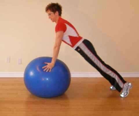 ball exercise start