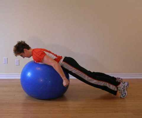 ball exercise mid position
