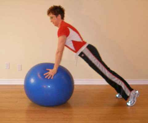 ball exercise end