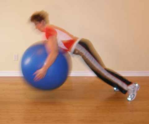 exercise ball bounce 1