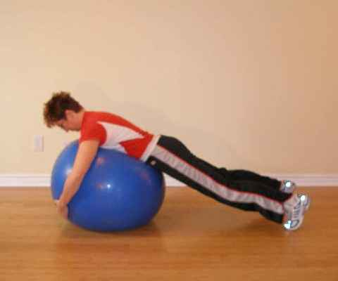 exercise ball bounce 2
