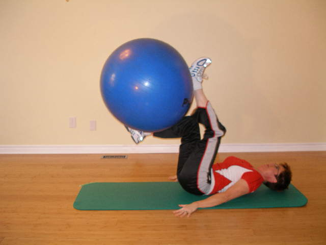 exercise ball exercises for scuba divers
