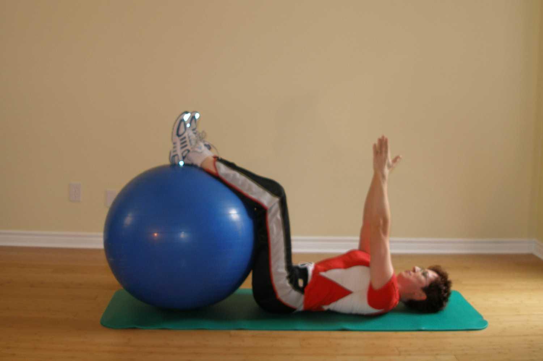 clock exercise arms up 1 o'clock