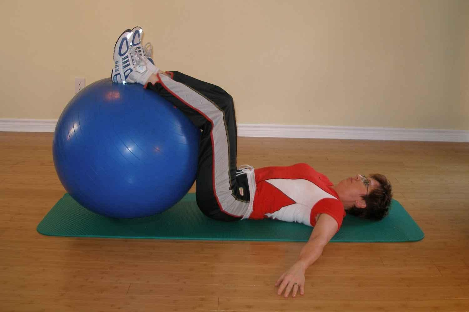 exercise ball foot drop 1
