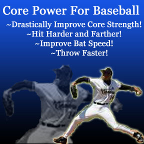 core workout for baseball