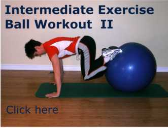picture relating to Printable Exercise Ball Workouts referred to as 187 Ball physical exercises and routines made available through a Actual physical