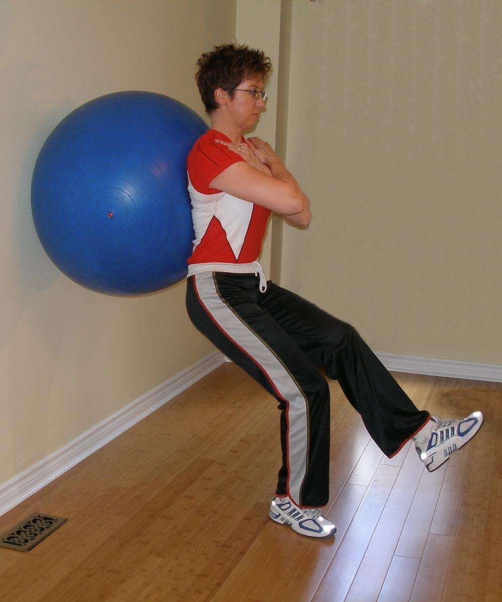 single leg squat start